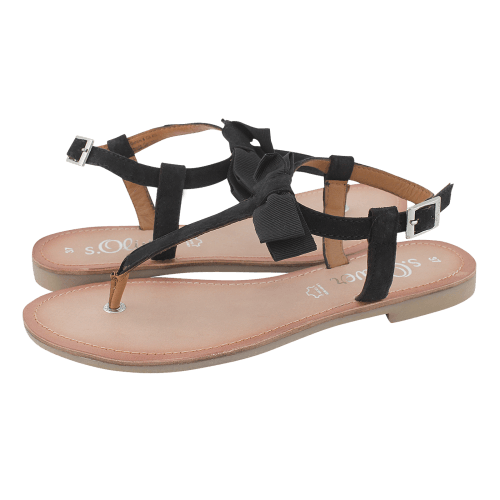 s.Oliver Novigrad flat sandals