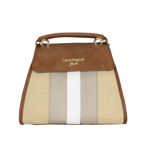 Laura Biagiotti Gold Tongyu bag