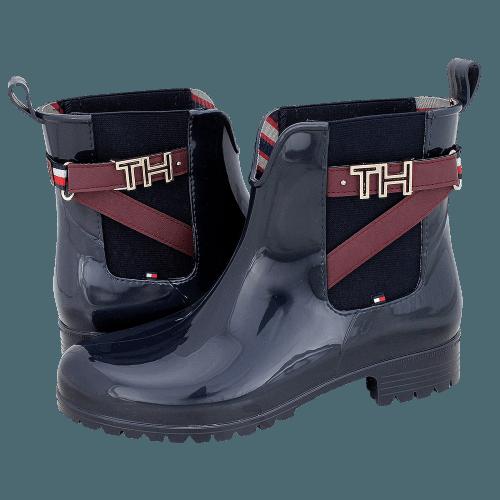 Tommy Hilfiger TH Hardware Rubber Bootie rainboots