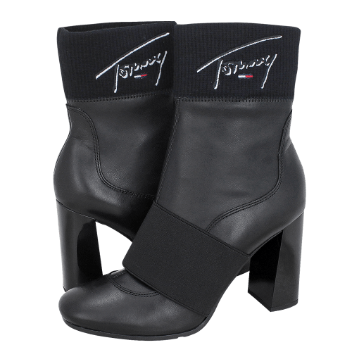 Tommy Hilfiger Signature Heeled Boot low boots