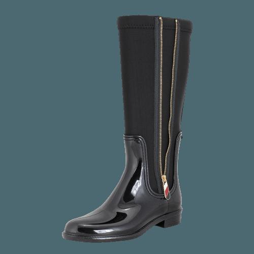 Tommy Hilfiger Material Mix Long Rain Boot rainboots