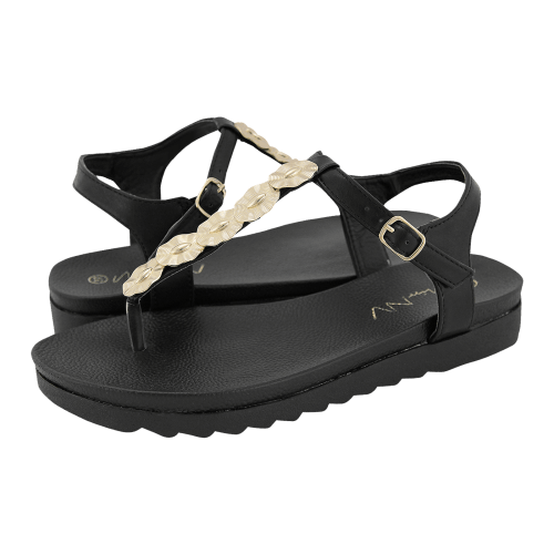 Miss NV Norham flat sandals