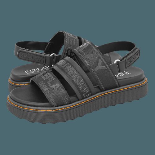 Replay Hurdville flat sandals