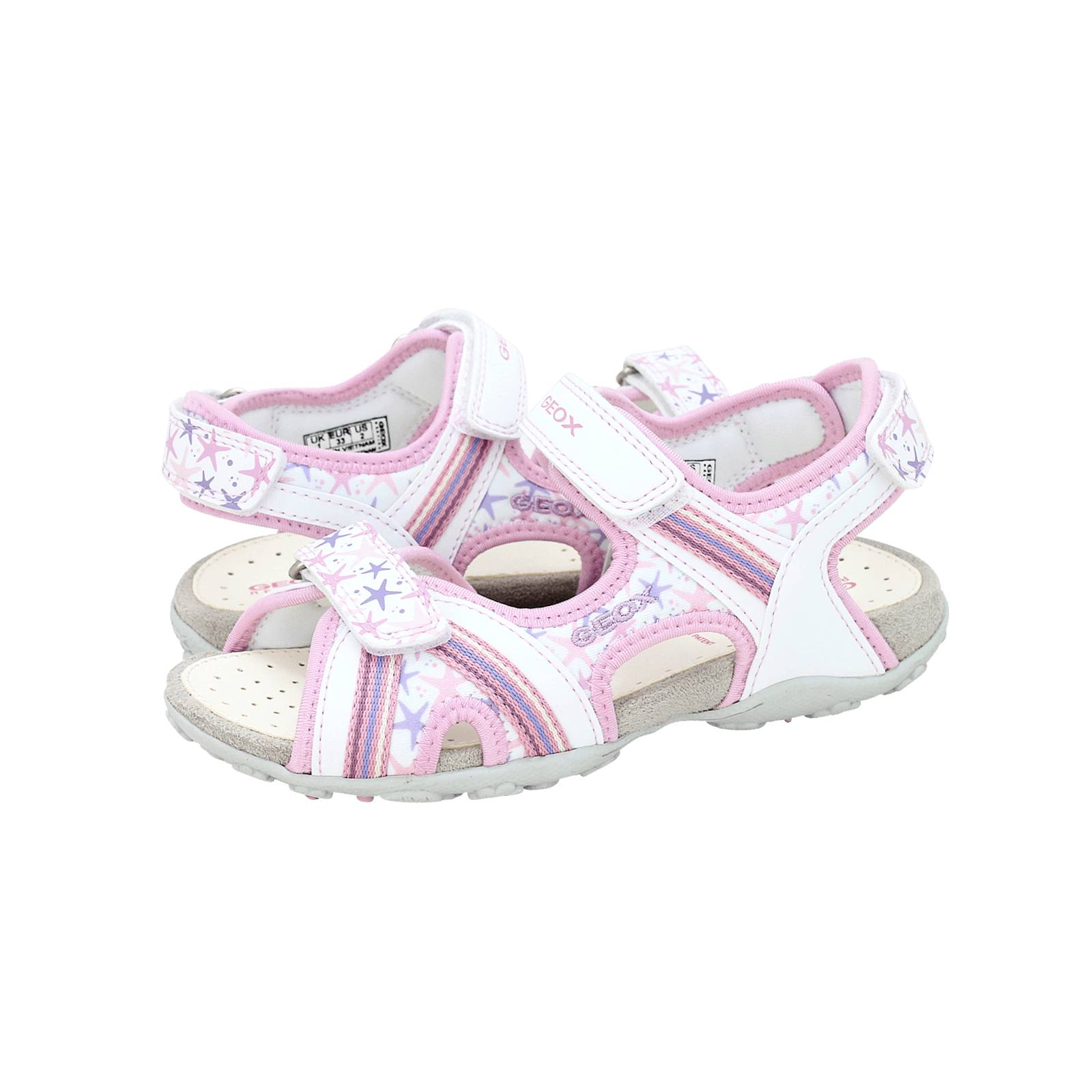 Whitney Fruncir el ceño Registro  J S.Roxanne A - Geox Kids' sandals made of synthetic leather and lycra -  Gianna Kazakou Online