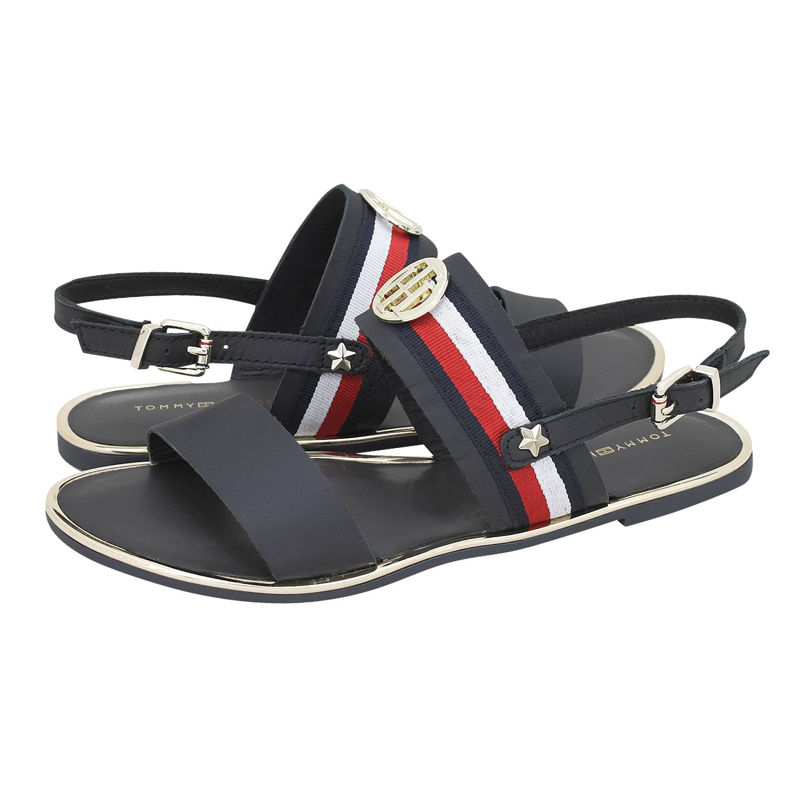 4619cea42 Tommy Hilfiger Corporate Ribbon Flat Sandal flat sandals. Corporate Ribbon  Flat Sandal