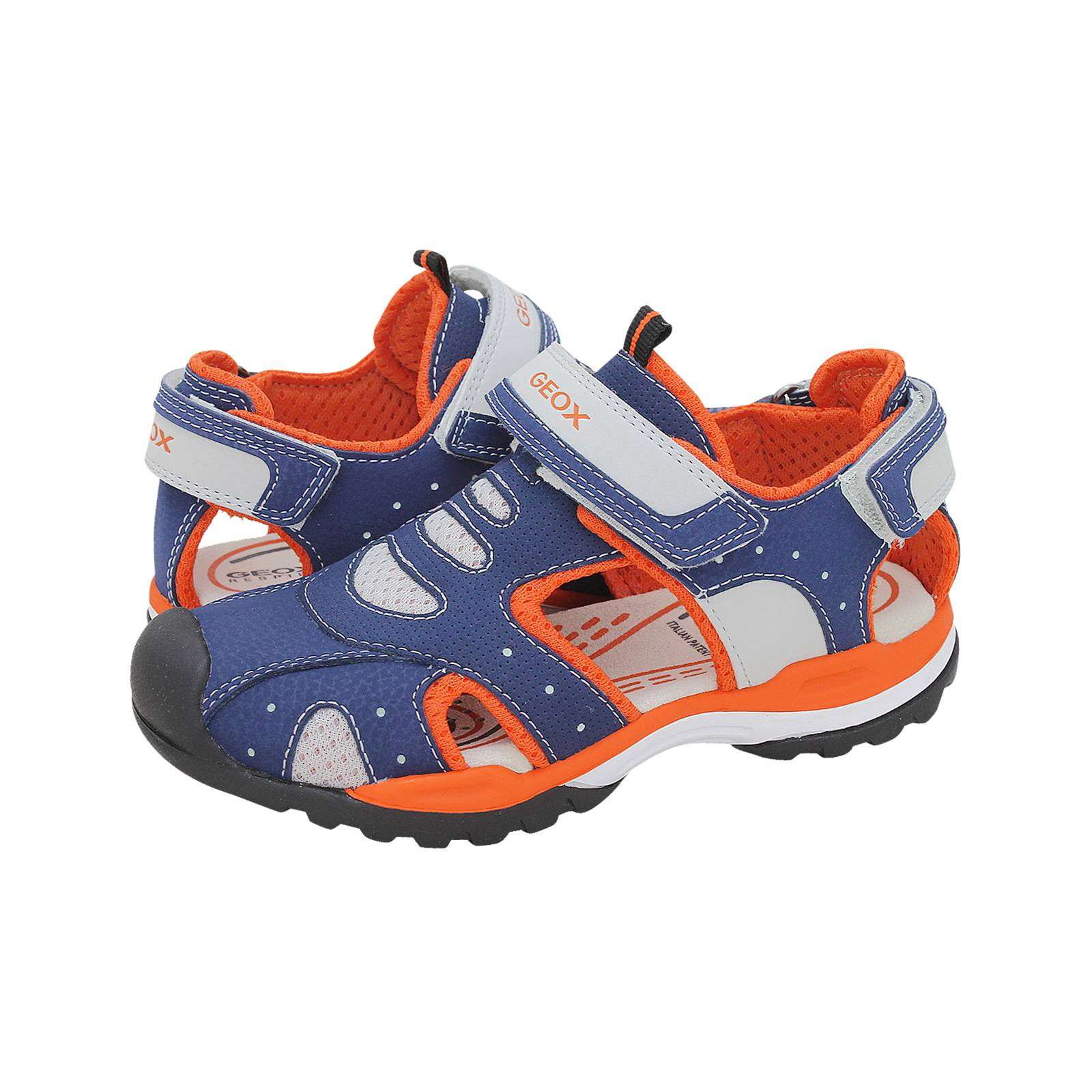 Helecho whisky fractura  J Borealis B.C - Geox Kids' sandals made of synthetic leather and fabric -  Gianna Kazakou Online